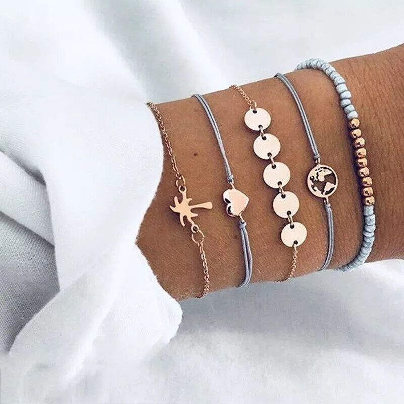 Beach Vibes Bracelet Set