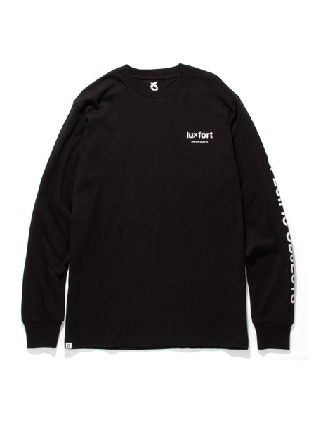 SPECIFIC OBJECTS L/S TEE - BLACK