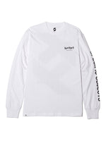 SPECIFIC OBJECTS L/S TEE - WHITE