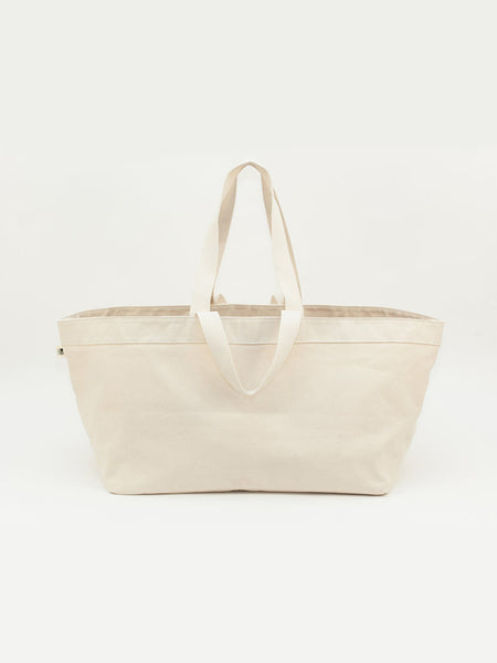 LARGE STRAGE TOTE - WHITE