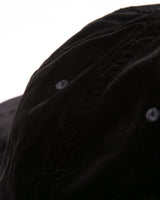 VELVET BALL CAP - BLACK(2473)