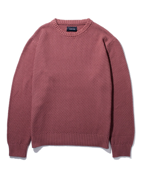 OVERDYED SWEATER - BERRY(2532)