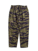EASY ELASTIC TROUSERS - CAMO