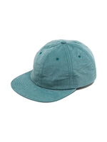 LIGHT CORDUROY BALL CAP - DUSTY TEAL