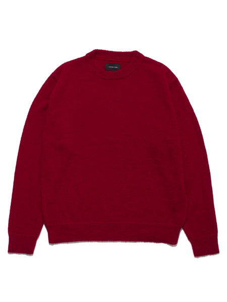 MOHAIR SWEATER - TOMATO