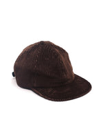 CORD BALL CAP - BROWN