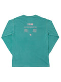 IN BLOOM LS - SEAFOAM