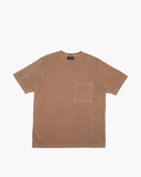 NATURAL DYED BLOCK SS JERSEY - BARK(3136)