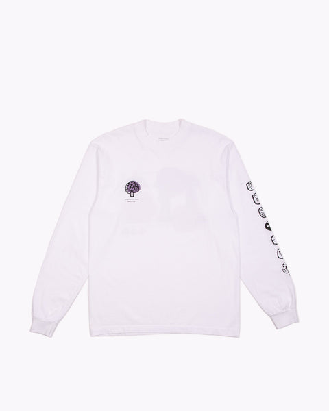 STONED LS JERSEY - WHITE(3141)