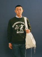 GRANGE NEWSPAPER BAG - OFF WHITE