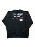 CRISIS CREW SWEAT - BLACK