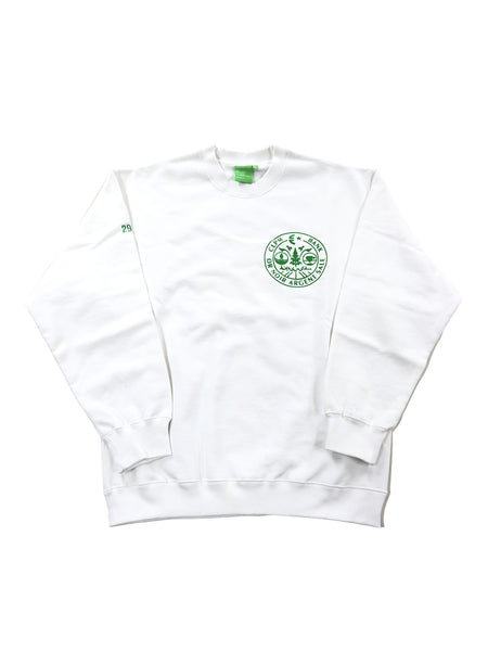 EUROSYSTEM CREW SWEAT - WHITE