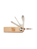 SURF CLOAK KEYCHAIN - NATURAL