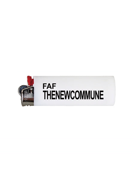 THENEWCOMMUNE LIGHTER - WHITE
