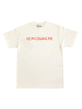 WORLD MAP SS TEE - WHITE