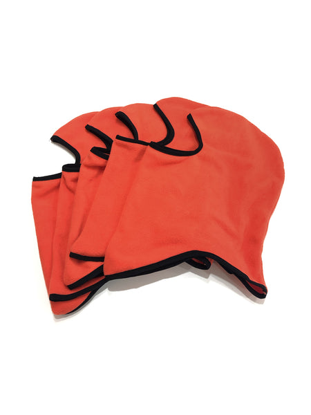 FLEECE FACE MASK - ORANGE