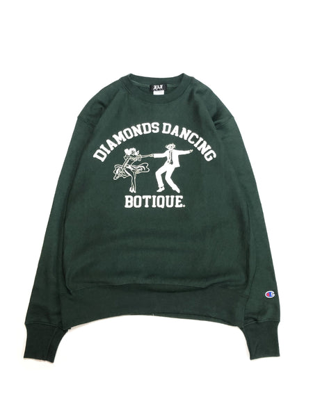 DDB SWEATSHIRT - GREEN