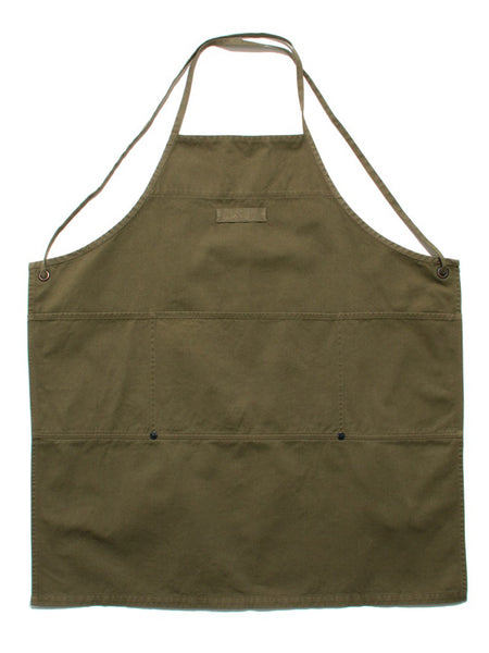 GIVE AWAY APRON III - OLIVE