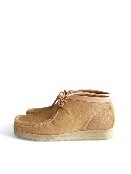 PADMORE AND BARNS P404 - NATURAL HAIRY SUEDE(3261)