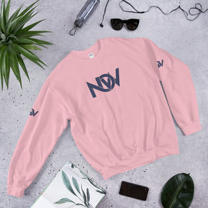 Trendy NOW Denim Print Sweatshirt