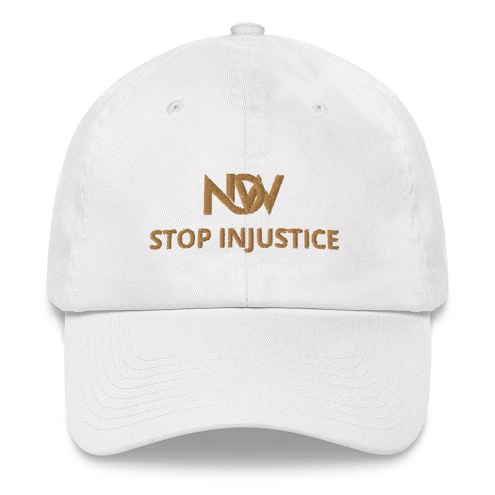 NOW Stop Injustice Hat