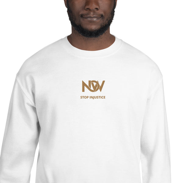 NOW Stop Injustice Sweatshirt