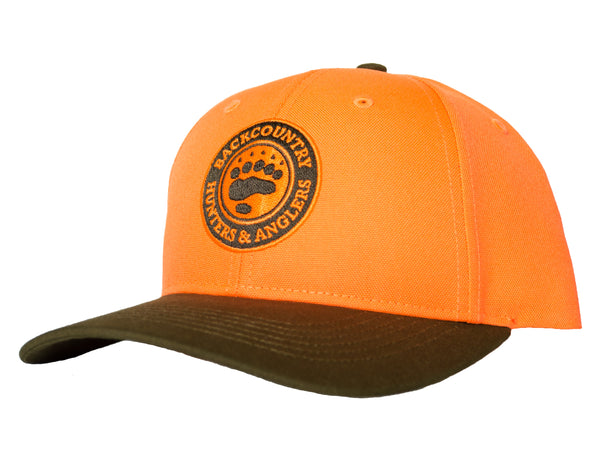 Blaze Canvas Duck Cloth Logo Hat