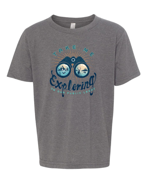 Youth Explorer Shirt-Grey