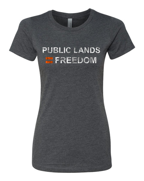 Women's Freedom Equals Public Lands Shirt
