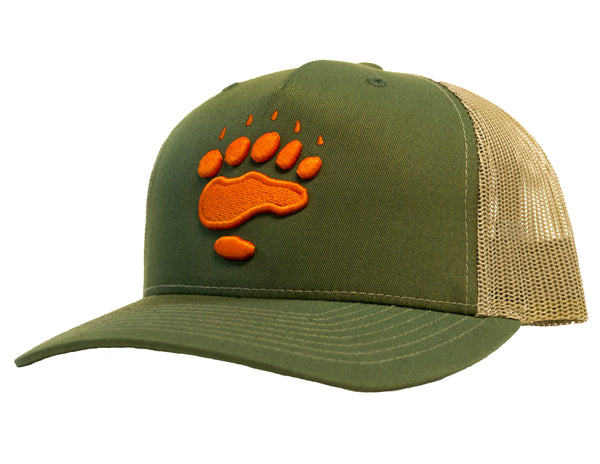 5 Panel Paw Trucker Hat