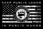 Keep Public Lands in Public Hands Sticker