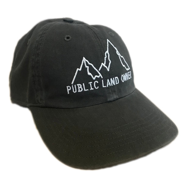 Public Land Owner Mountain Hat - Charcoal
