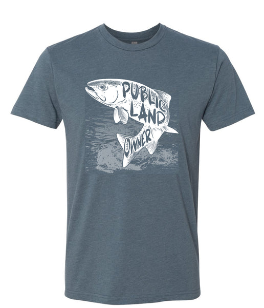 Men's Trout Public Land Owner Shirt