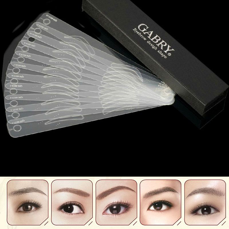 Magic Eyebrow Stencil Band 12 Styles Our Home Gadgets