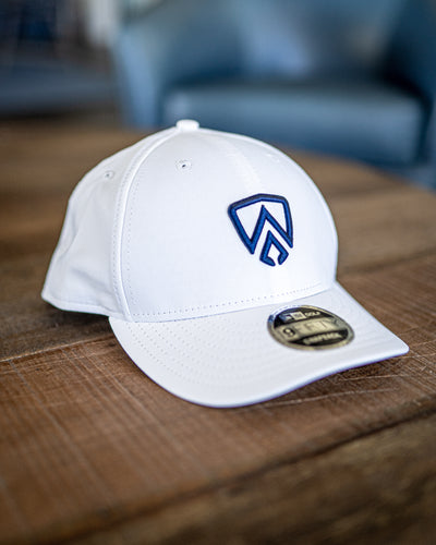 New Era Shield Snapback - White