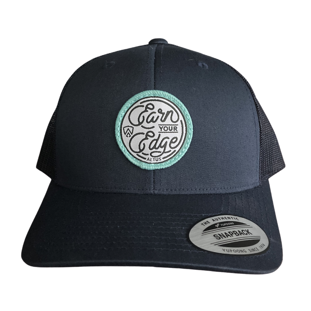 Earn Your Edge Patch Snapback - Navy