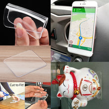 Load image into Gallery viewer, Reusable Anti-Slip Mat Auto Phone Holder