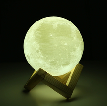 Load image into Gallery viewer, Moon Lamp