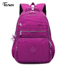 Load image into Gallery viewer, TEGAOTE Laptop Backpack Women and Teenagers