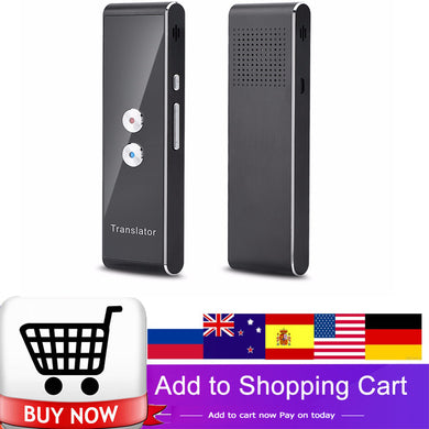 Portable Smart Translator 40 Language Voice Translator