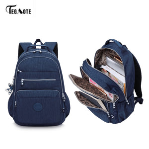 TEGAOTE Laptop Backpack Women and Teenagers