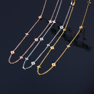 SHE WEIER stainless steel chain necklaces for women