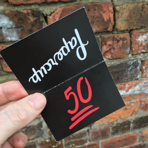 Prepaid coffee card - 50 club