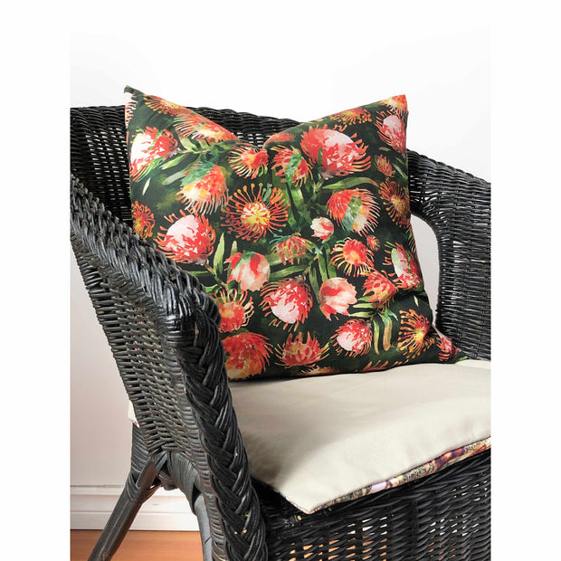 Pincushion Mosaic Throw Pillow