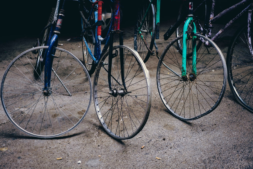 Bicycles: Old, New & Recycled