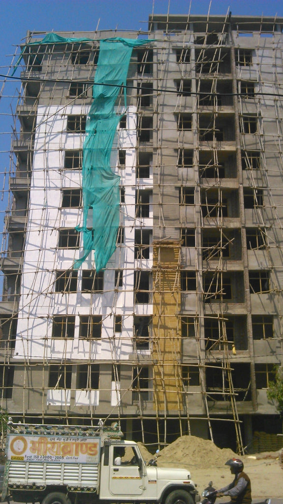 The Day of the Bamboo Scaffolding