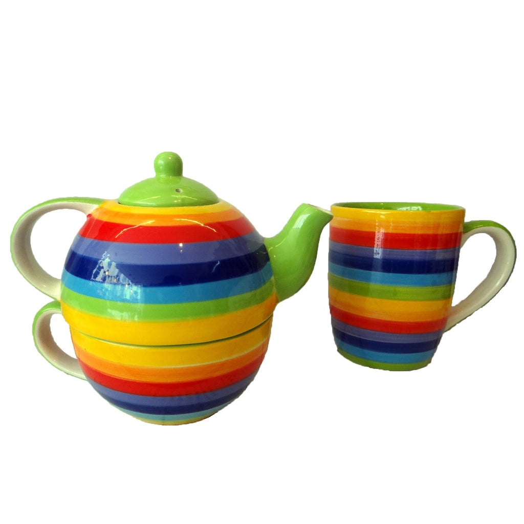Homeware - Rainbow Tea Mug & Cup