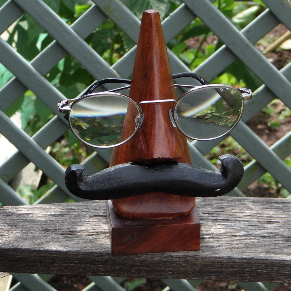 Gifts for Him - Moustache Spectacle Stands