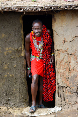 Tribesman from the Iconic Tribute - The Maasai