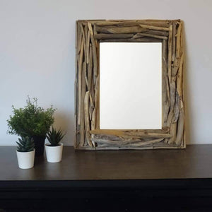 Load image into Gallery viewer, Driftwood Mirror